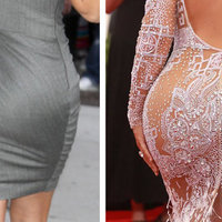 Hatalmasra duzzadt Kardashian feneke