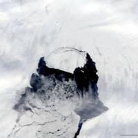 Félelmetes! Brutális darab jéghegy szakadt le az Antarktisztól - Videó