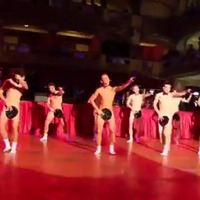 Férfivetkőzéssel ünnepelték a szalagavatót! - Videó