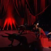 Madonna lezuhant a színpadról - Videó
