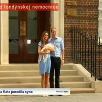 Bemutatták Katalin hercegnő és Vilmos herceg kisfiát