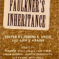 ``TOP`` Faulkner's Inheritance (Faulkner And Yoknapatawpha Series). HannG Yahoo gastos listones Archive Peter