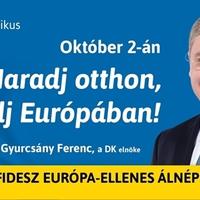 Kis népszavazási plakát elemzés