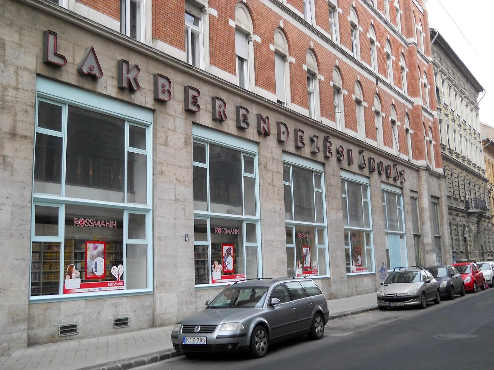 VII., Erzsébet körút–Barcsay utca sarok