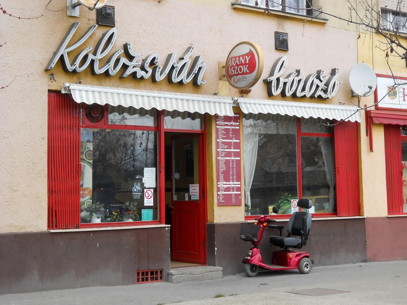 XV., Kolozsvár utca