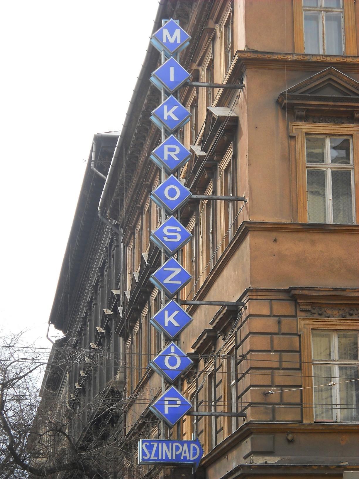 VI., Andrássy út–Nagymező utca sarok