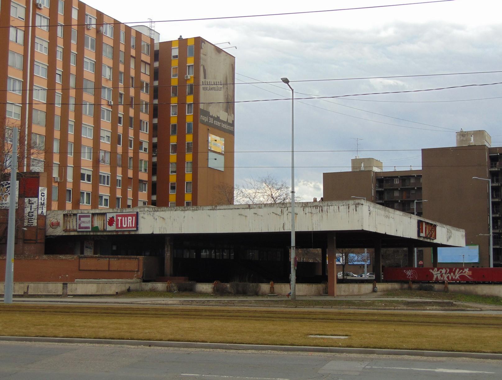 A Liget téri metróvégállomás, ahová soha nem futott be metró