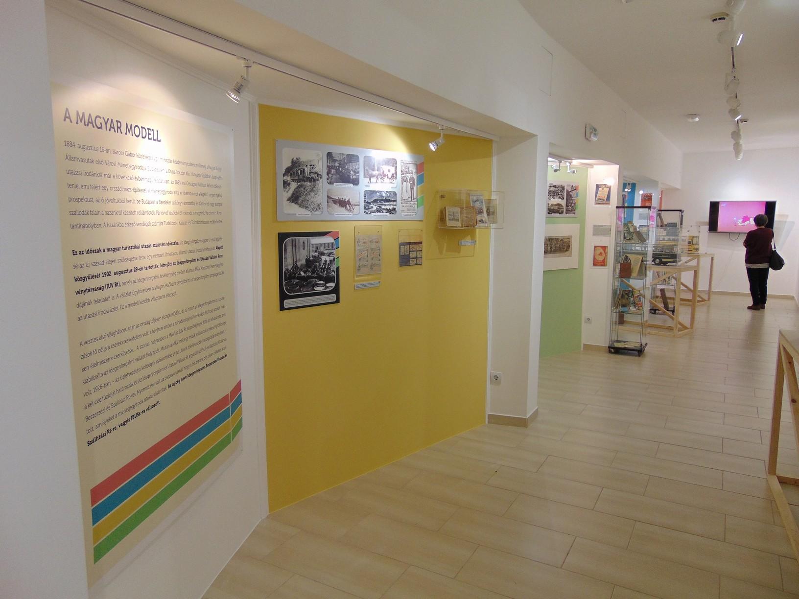 ... Múzeum új időszaki kiállítása. A szeptember 2-ig megtekinthető tárlat a  lehető legszínesebben próbálja bemutatni az IBUSZ elmúlt több mint száz  évét efa20f21e9