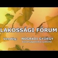Nógrádi György előadása: Németh Szilárd is megirigyelné