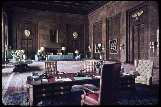 Adolf Hitler irodája.
