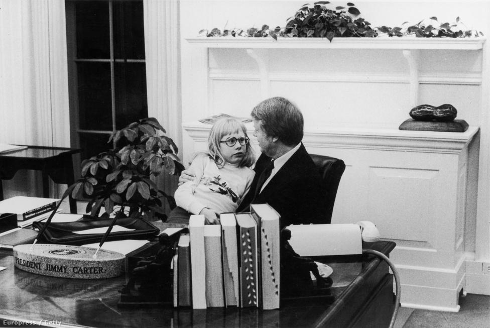 Jimmy Carter szinte semmit sem változtatott az irodán. Állítólag a spórlás miatt.