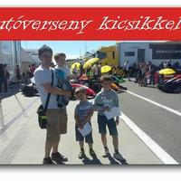 Autóverseny kicsikkel