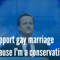 A melegházasság, mint konzervatív cél