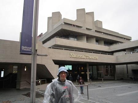 A National Theatre épülete is brutalista, de amikor ott jártam még nem tudtam, mit figyeljek.