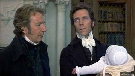 Az Értelem és érzelem azért is lett zseniális, mert együtt láthattuk benne Hugh Laurie-t és Alan Rickmant.