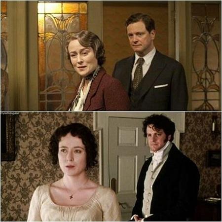 Colin Firth és Jennifer Ehle 15 év után ismét együtt játszott. A király beszédében, amely Colin Firth-nek díjesőt hozott VI. György angol király megformálásáért, Jennifer Ehle alakította Lionel Logue (Geoffrey Rush) feleségét. További érdekesség, hogy a filmben föltűnik David Bamber is, aki a Büszkeség és balítéletben Mr. Collinst alakította.