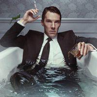 A nap képe: Benedict Cumberbatch fürdik
