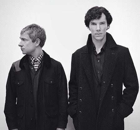 Benedict Cumberbatch, Martin Freeman. BBC 2010. Mást most nem is írok ide, jó? :)
