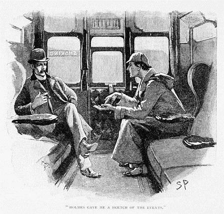 Sir Arthur Conan Doyle történeteit Sidney Paget illusztrálta, ő teremtette meg azt a pipafüstbe burkolózó alakot, akit ma elképzelünk, ha Sherlock Holmes eszünkbe jut.