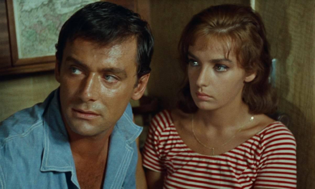 Maurice Ronet és Marie Laforêt mint  Philippe Greenleaf és Marge Duval. Dickie a francia filmben a  Philippe nevet kapta.