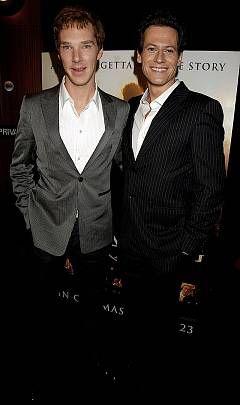Benedict Cumberbatch és Ioan Gruffudd A szabadság himnusza bemutatóján. A film premierje 2006-ban volt, de nemzetközileg 2007. február 23-án mutatták be: pontosan 200 évvel azután, hogy William Wilberforce harcának eredményeként a brit parlament betiltotta a rabszolga-kereskedelmet.