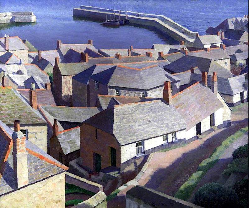 Early Morning, Newlyn (1926, oil on canvas)<br /><br />Dod Procter<br /><br />Dod Procter RA (born Doris Margaret Shaw, 1890–1972) was an English artist, and wife of artist Ernest Procter. Her painting, Morning, was bought for public consumption by the Daily Mail in 1927.Procter and her husband attended art schools in England and in Paris together, where they were both influenced by Impressionism and Post-Impressionism movements. They also worked together at times, sometimes sharing commissions and other times showing their work together in exhibitions. Procter was a lifelong artist, active after the untimely death of her husband in 1935. She was a member of several artists organisations, such as the Newlyn School and became President of St Ives Society of Artists (STISA) in 1966.<br />