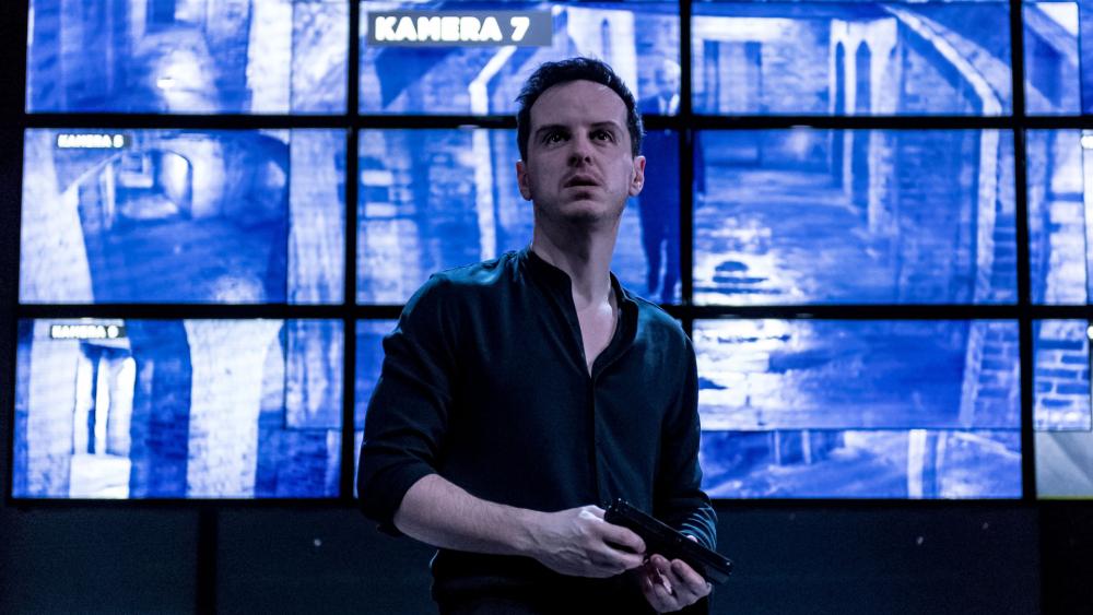 Andrew Scott 2017-ben állt színpadra Hamletként, ez az előadás sajnos még nem jutott el hozzánk.