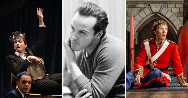 Korunk Hamletjei: David Tennant, Andrew Scott, Benedict Cumberbatch