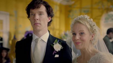 Bár a képen nem látszik, Sherlock és Mary szeretik egymást...