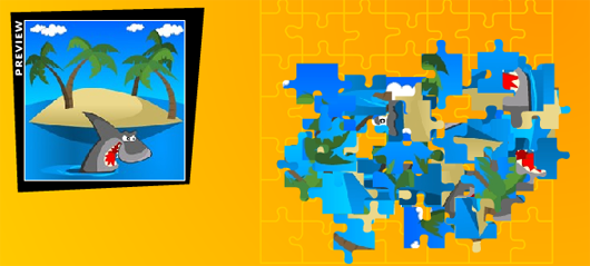 Saw puzzle játék