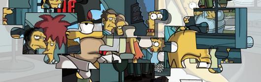 Simpsons Mafia Puzzle