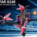 Helifar X140 Pro drón teszt – Skót csúcstechnika