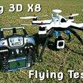Nagy méretű, kamerás multikopter projekt V. - a motorokról és a  Flying 3D X8-ról