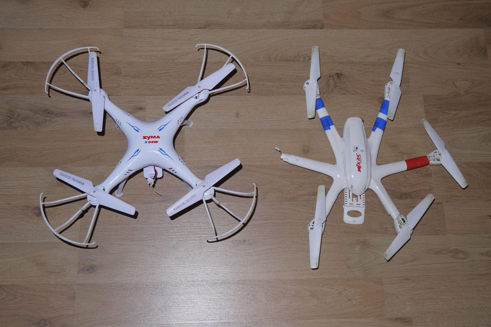 Nem is nagyobb az MJX X600 propeller védők és lábak nélkül