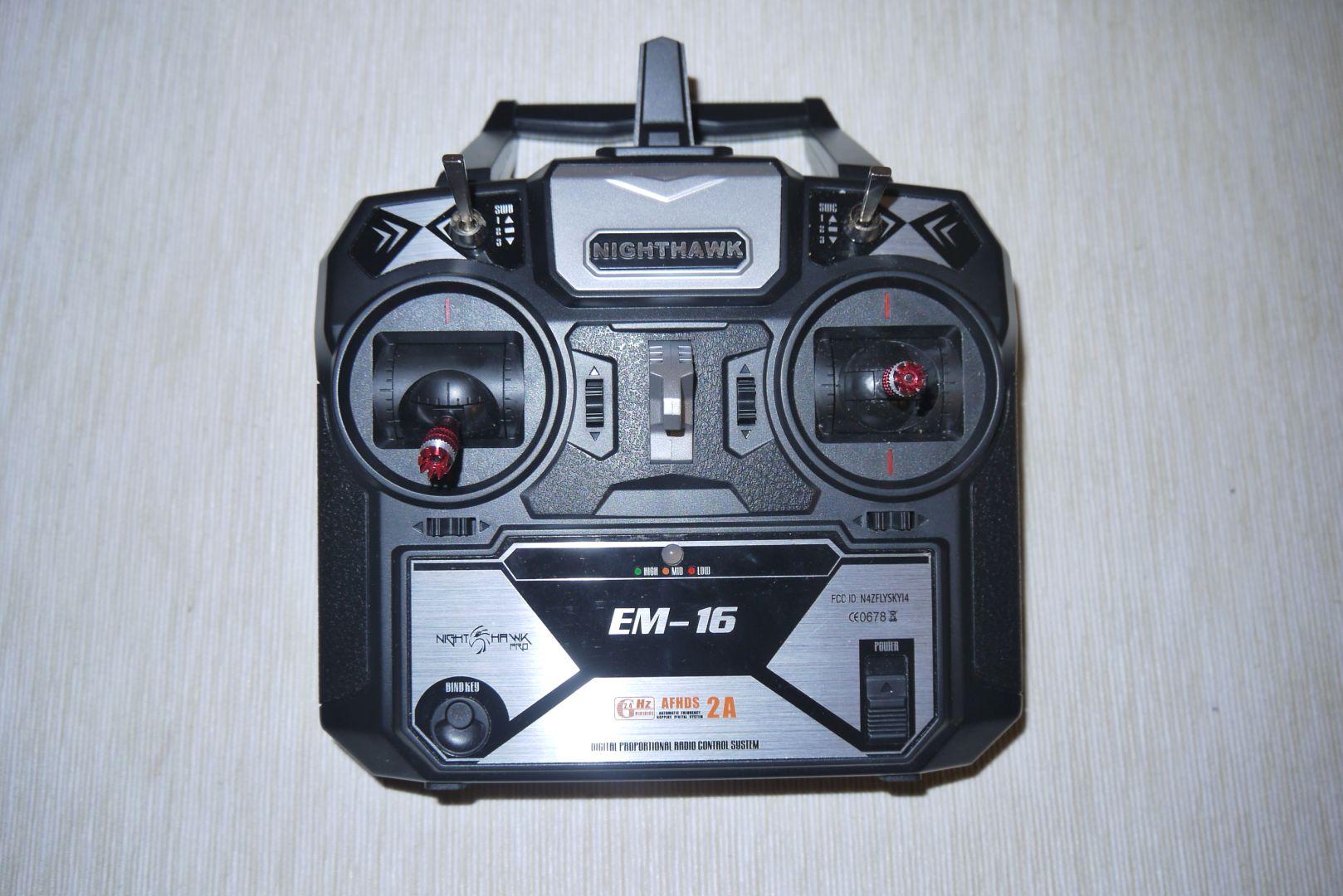 Emax átmatricázott Flysky FS i-6 távja