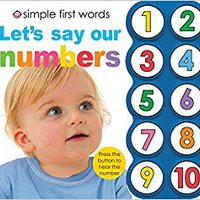 Simple First Words Let's Say Our Numbers Book Pdf