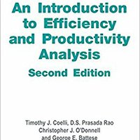\\OFFLINE\\ An Introduction To Efficiency And Productivity Analysis. salon Software exciting Vecinos private products