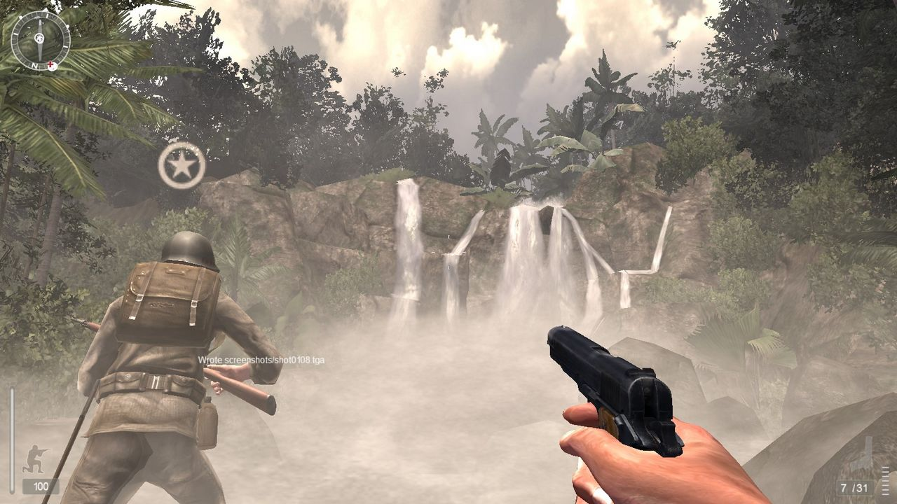 második világháborús FPS: Medal of Honor Pacific Assault (screenshot)