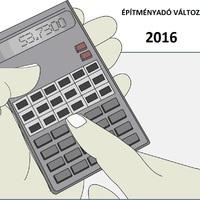 Építményadó változás 2016 !
