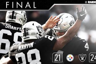 A Steelers legyőzésével megszereztük a harmadik győzelmünket