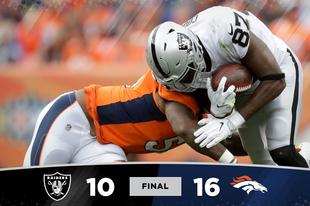 Borzasztó gyenge támadójátékkal kaptunk ki a Broncos vendégeként