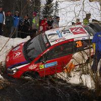 Citroen C4 WRC a patakban