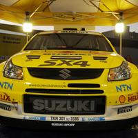 Itt az új Suzuki SX4 WRC