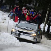 Focus WRC vs. Mitsubishi Evo9