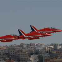 Airshow Amman felett