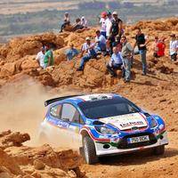 Jordan Rally - Turán Friciék az SWRC-kategória 4. helyéről várják a folytatást!