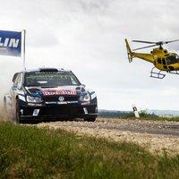 Volkswagenes hyundaios dobogó - Rallye Deautschland 3. nap