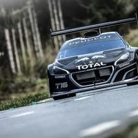 Loeb első útja a Peugeot Pikes Peak-i rakétájával