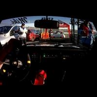 Szolykáék a Szilveszter Rallye 5. gyorsaságiján