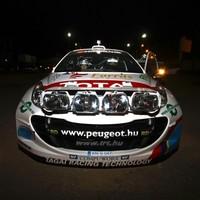 Szeretnek sötétben autózni - Turán Frici sajtóközlemény a Miskolc Rallye szombati napjáról